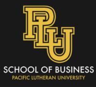 PLU School of Business Logo